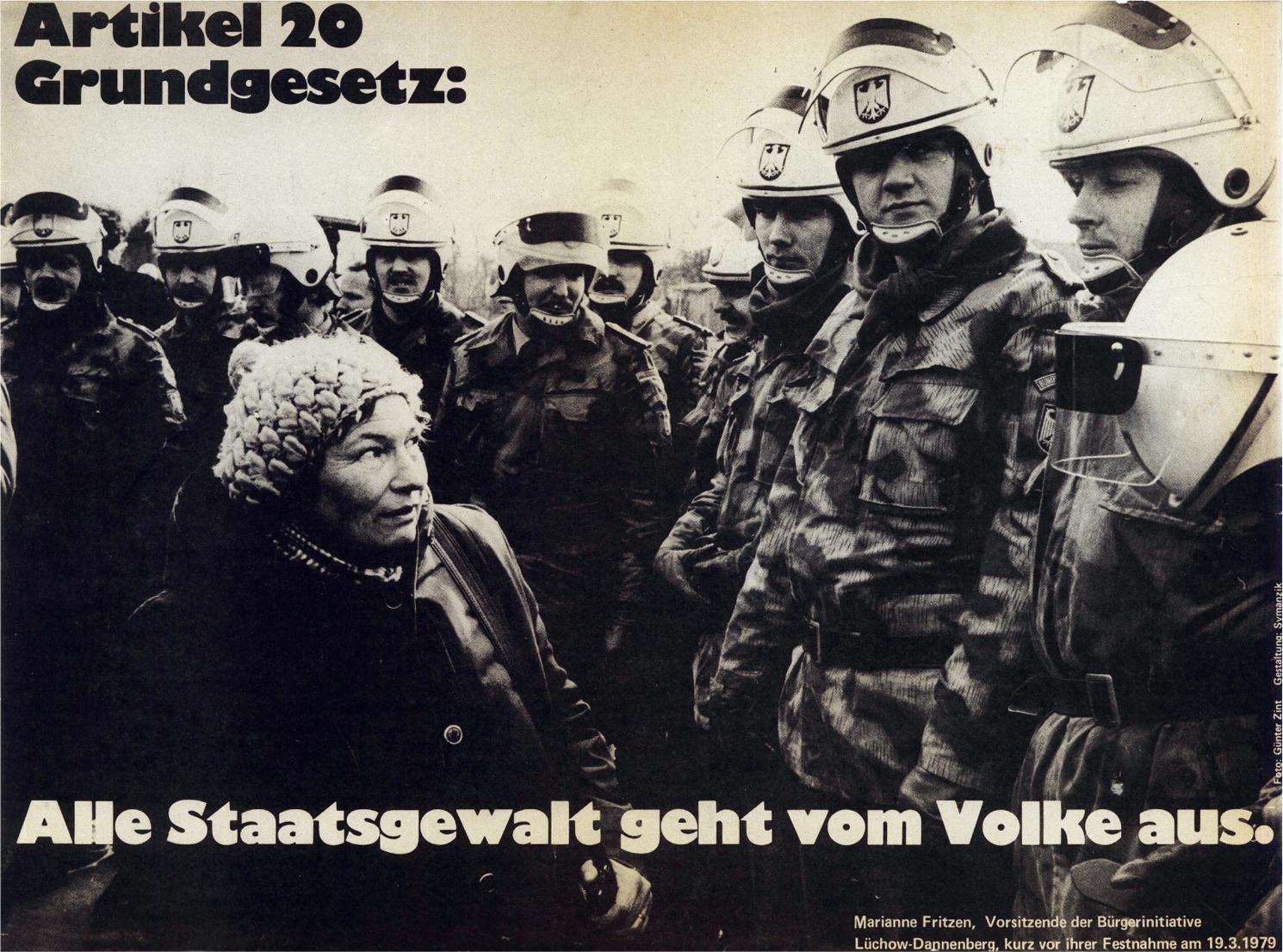 20条 ドイツ連邦共和国基本法 すべての国家権力は、国民より発する。