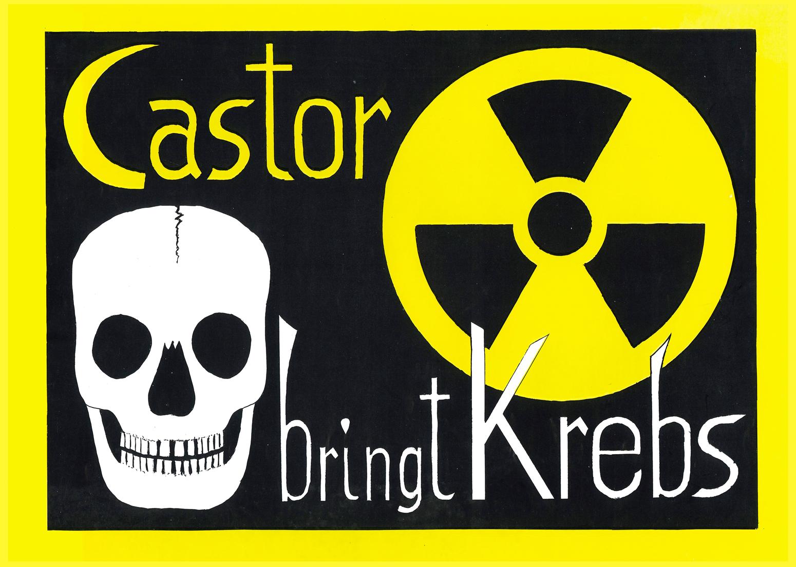 カストーア(核廃棄物用特殊容器)が癌を連れてやってくる